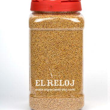 Venta y distribución de mostaza en grano. El Reloj