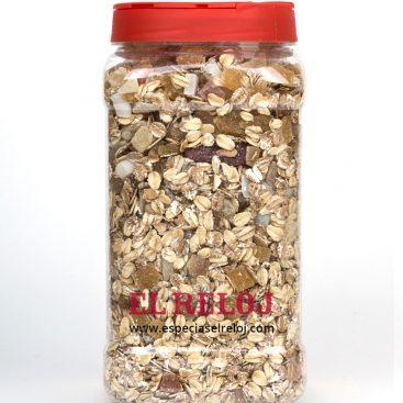 Venta y distribución de Muesli multicereales con futas exóticas en Especias y condimentos El Reloj